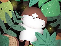 森系插画2
