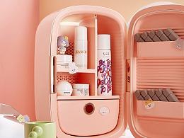 缤兔PINKTOP&RiCO联名美妆冰箱