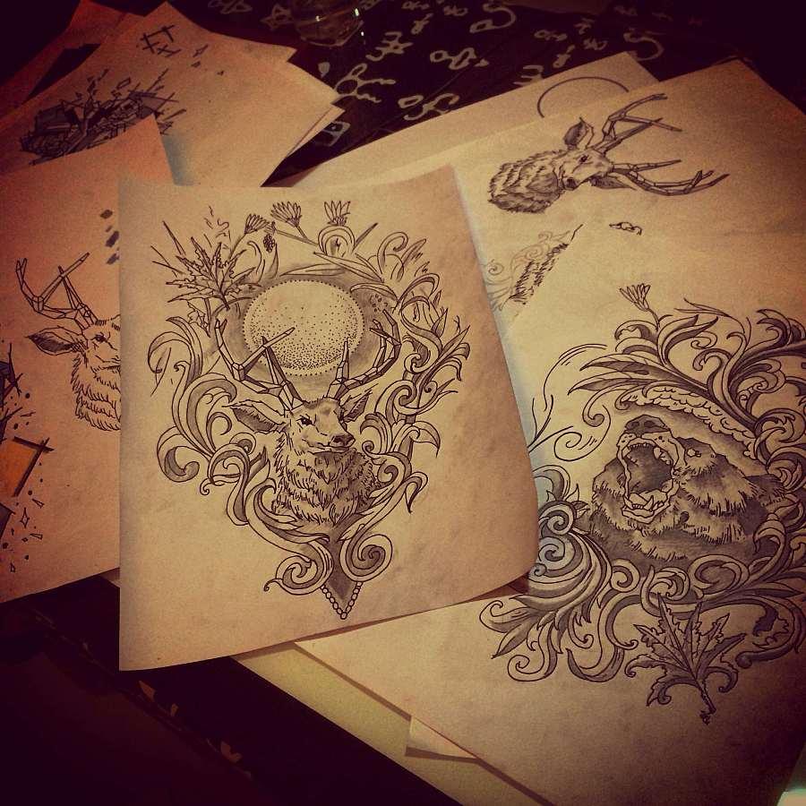 小图纹身设计-w纹身图内容图片分享