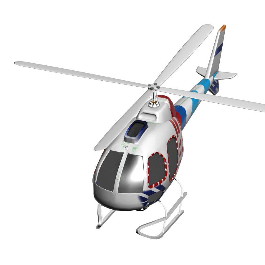 直升飞机 机械/交通 三维 jianyanhuiii