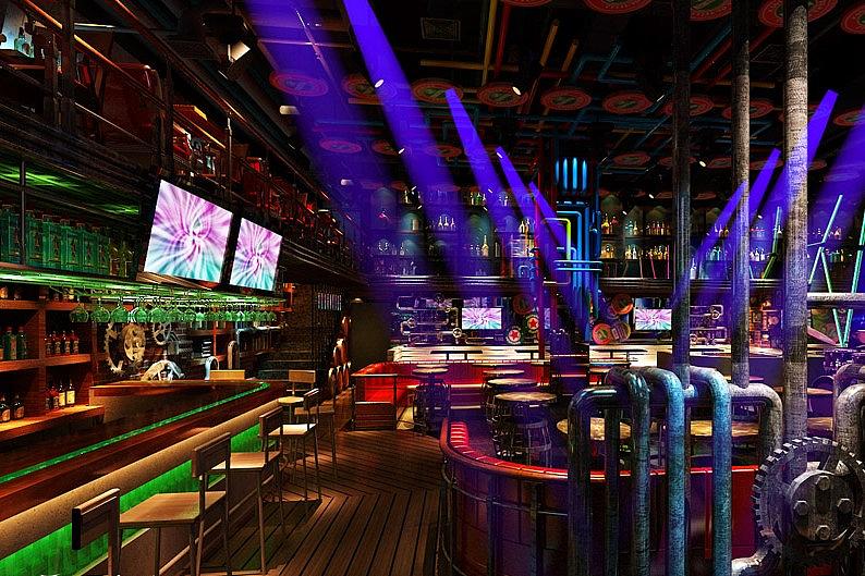 青岛酒吧设计公司-卓巧装饰-青岛特色酒吧设计公司