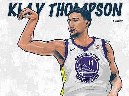 Klay Thompson 1w分先生 开工大吉 Golden State