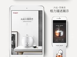 格力大松-苹果煲详情页设计