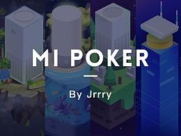 小米扑克-插画设计