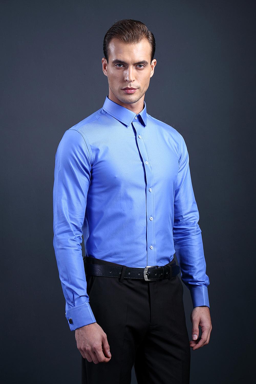 广州三元里商务男装衬衫上身图拍摄 外国模特男衬衫拍摄 衬衫摄影