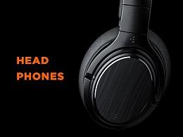 【产品渲染-头戴耳机】