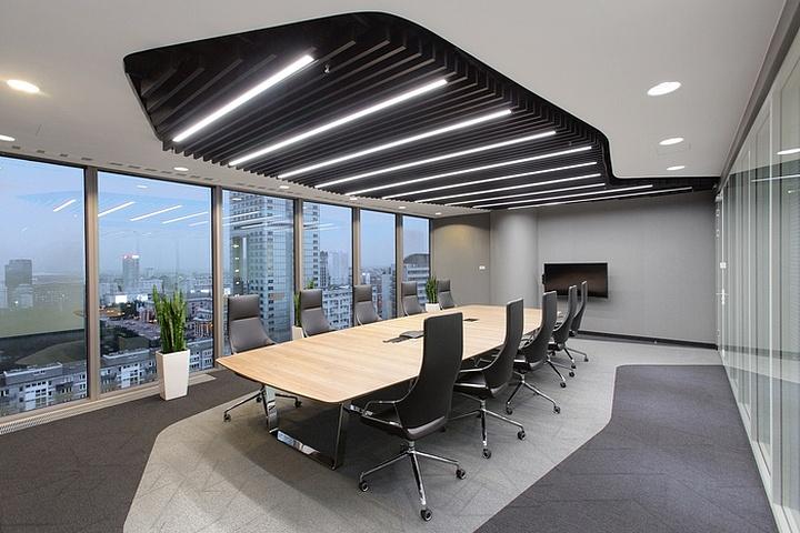 成都办公室设计装修效果图-四川1769装饰
