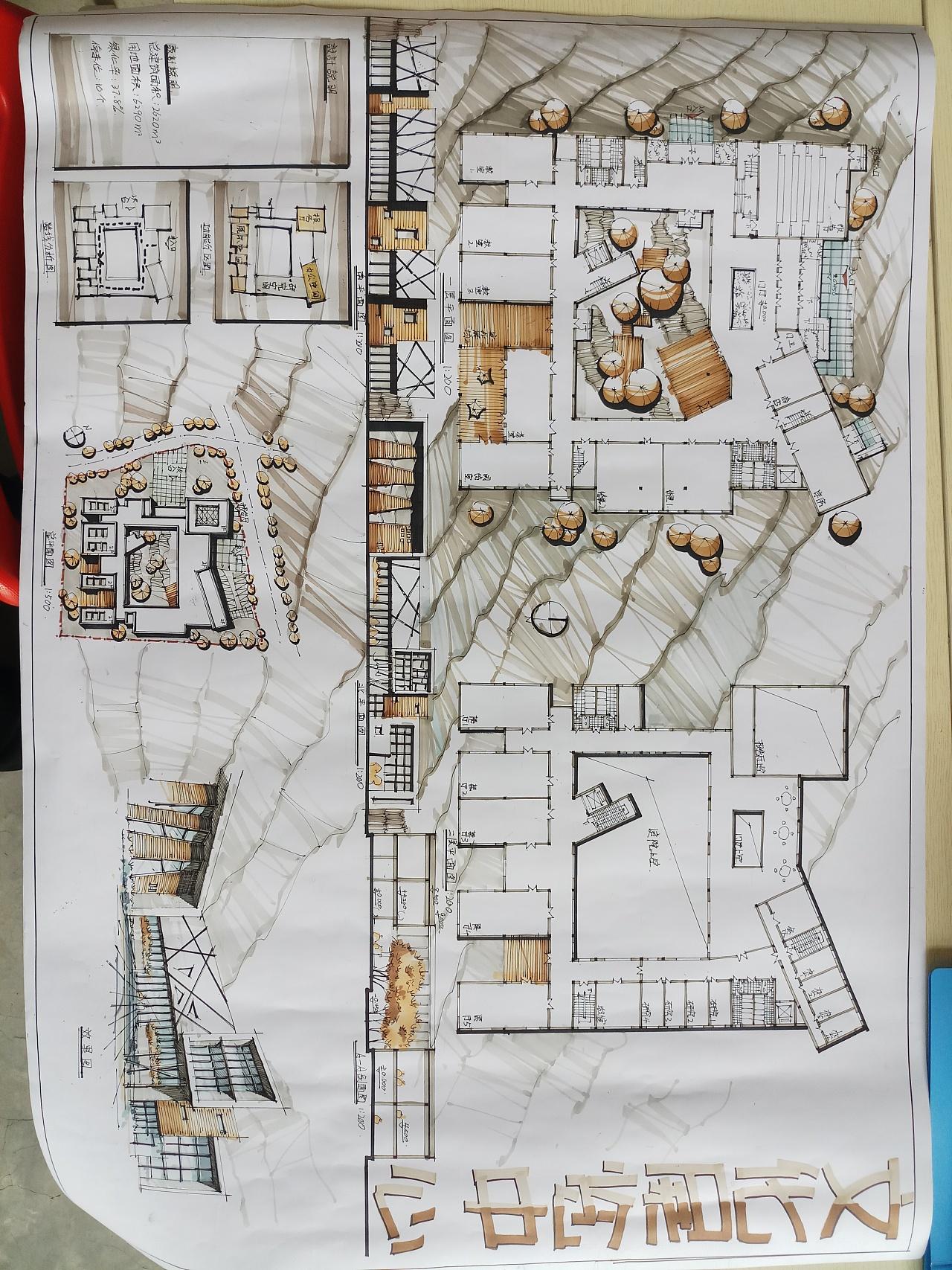 建筑手绘效果图图片