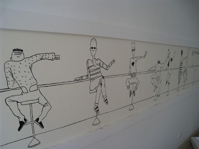 手绘墙画|插画|概念设定|大庆摩法师手绘 - 原创作品