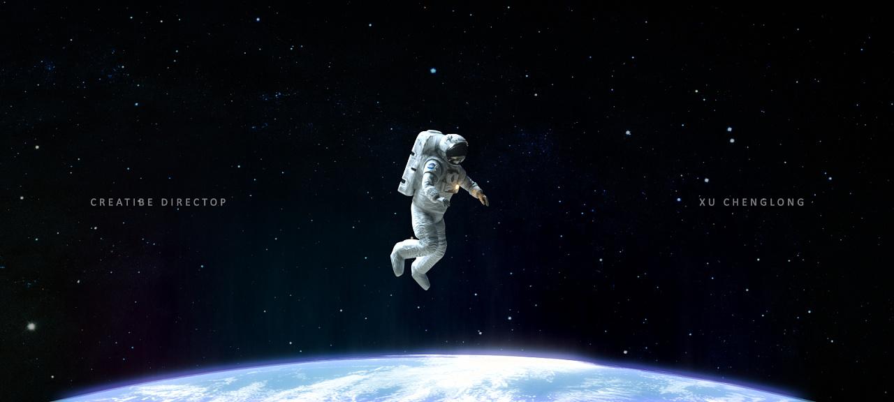 航员NASA 外太空场景 渲染练习