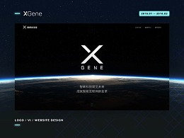 XGene 官网品牌设计