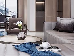 九峰小区|简约风情入室,尽融纯粹现代风尚