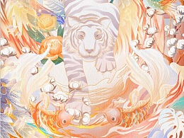 【绘画】国潮风中国古代神话天之四灵