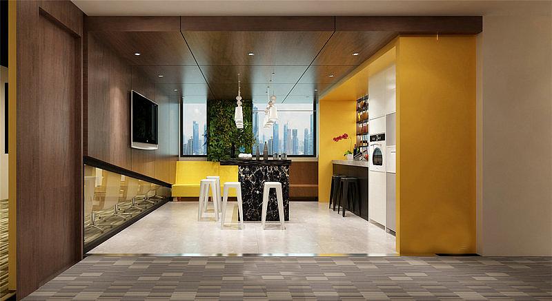 重庆各种办公室装修装潢/办公室室内设计/写字楼规划全友甲醛衣柜图片
