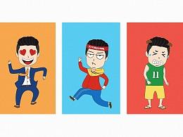 卡通人物插画