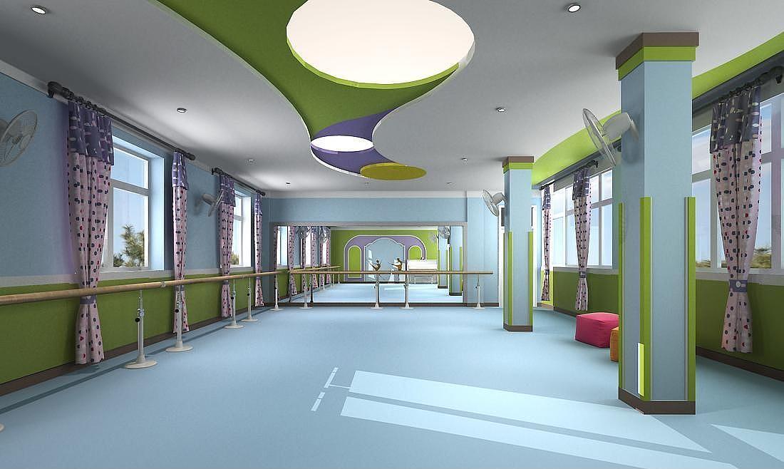 重庆幼儿园装修效果图/幼儿园规划设计/学校综合楼装修
