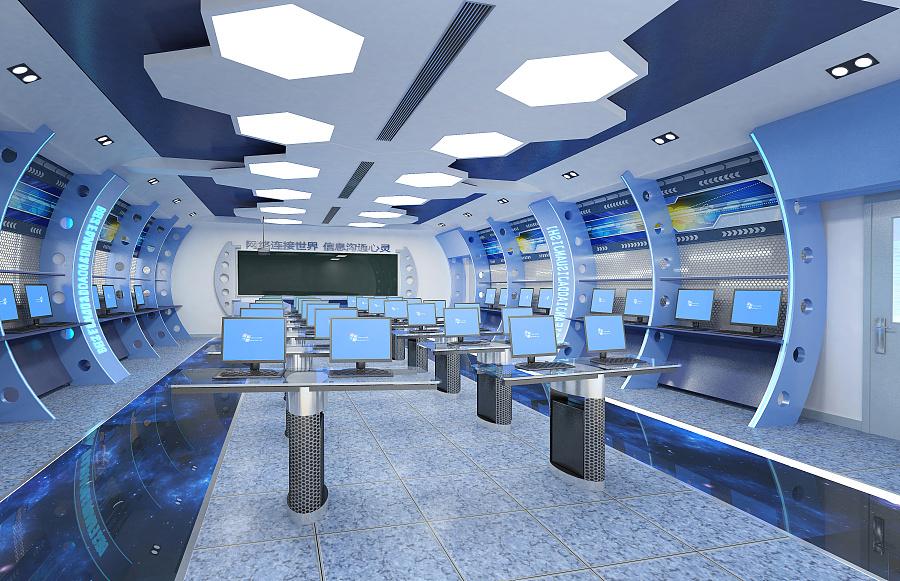 计算机未来教室图片