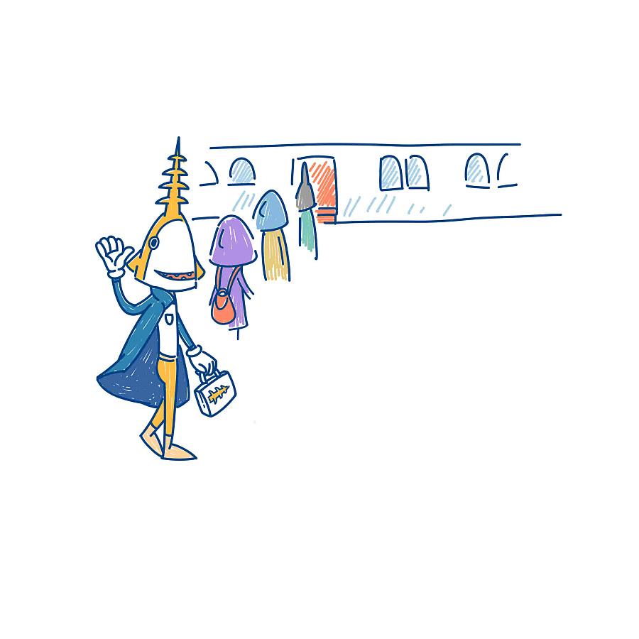 令人抓狂的十一假期 系列|时事漫画|动漫|鲨鱼公园图片