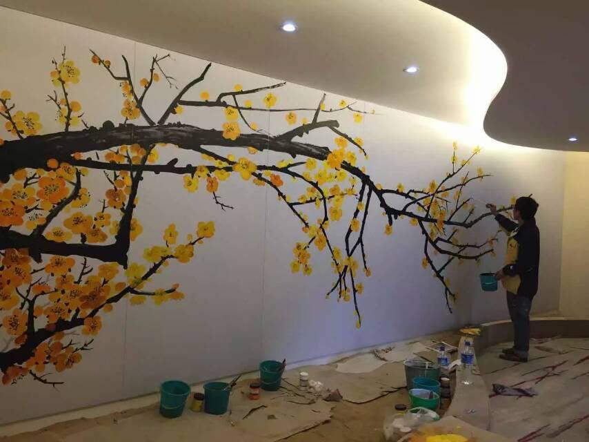 3d墙画_云南昆明手绘墙绘墙画墙体彩绘公司制作培训3D彩绘健身房网吧 ...