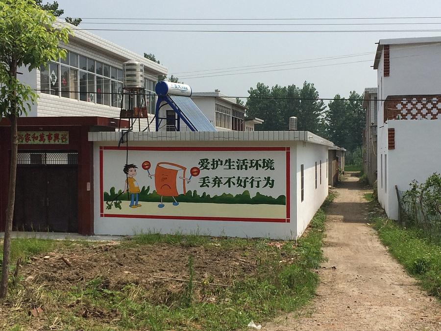 桐城文化墙 墙画 幼儿园彩绘 文化墙设计 六安美好乡村墙画图片