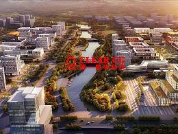 城市规划表现图