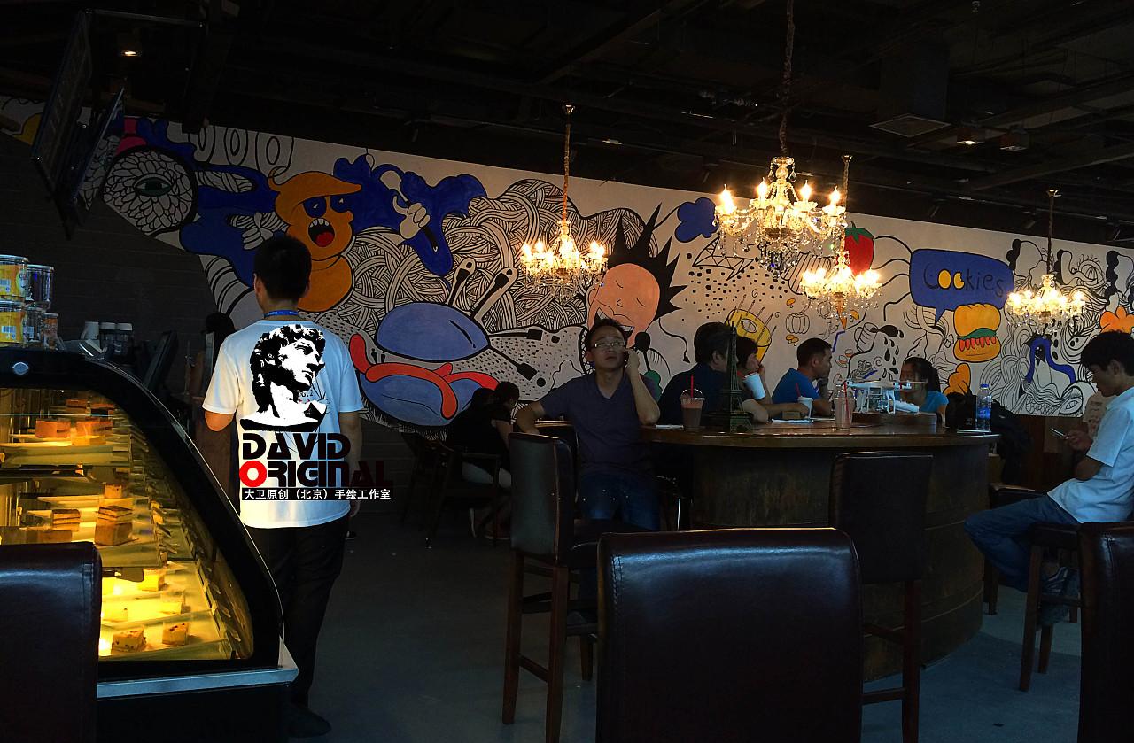 【推荐】北京主题餐厅墙绘◆3d立体画◆饭店墙画◆ktv