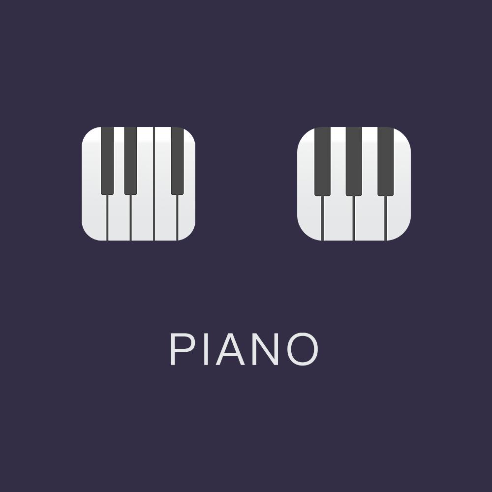 钢琴|ui|图标|swordck - 原创作品 - 站酷 (zcool)