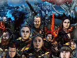 冰与火之歌权利游戏,第8季总结插画