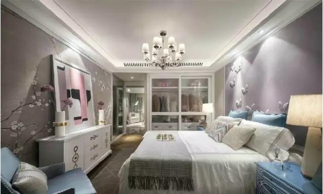 省委党校家属院115平欧式风格三室两厅装修样板间图片