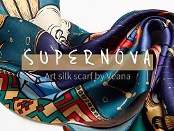ICY艺术丝巾(第二弹)-SUPERNOVA