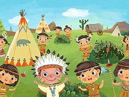 十个印第安小孩