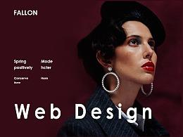 FALLON JEWELRY 网页重构