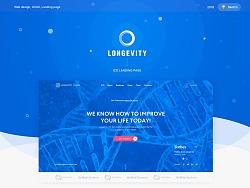 Longevity — ICO landing page / 長壽 - ICO登陸頁面