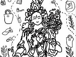 西藏小插图