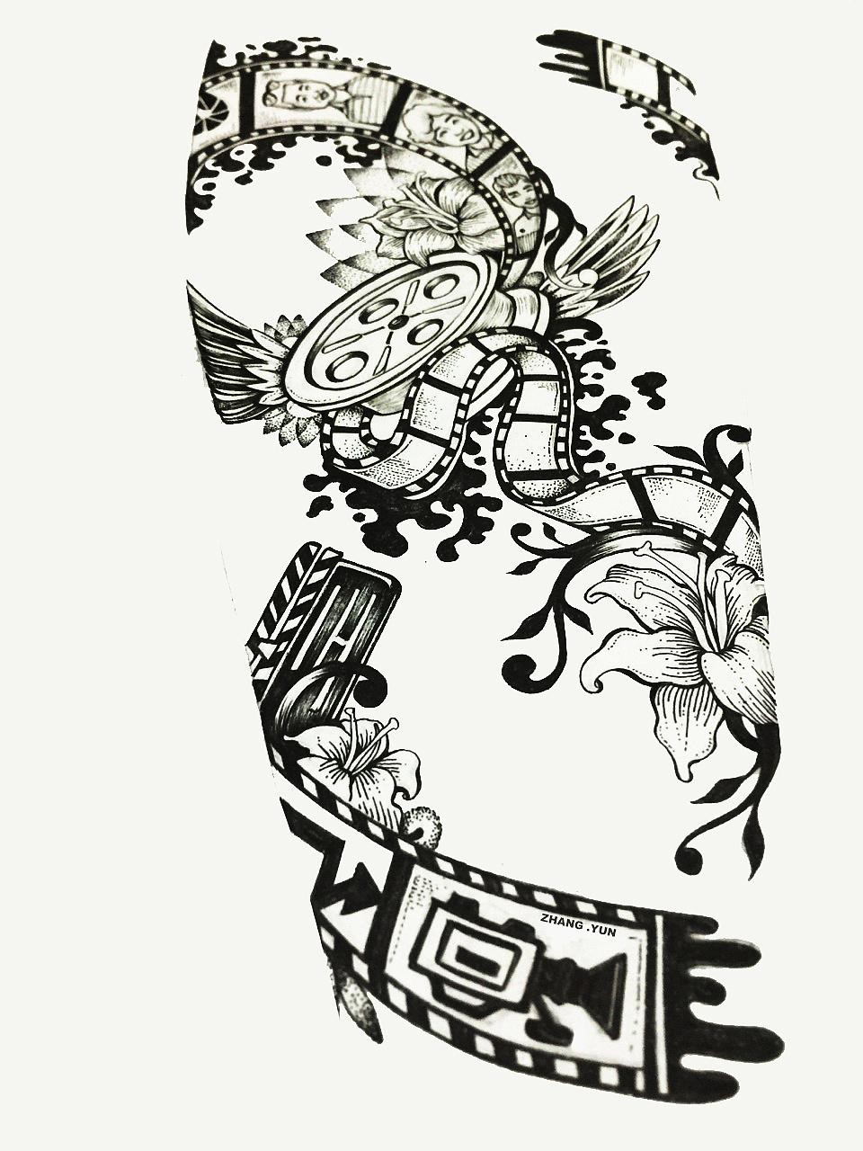 纹身手稿设计