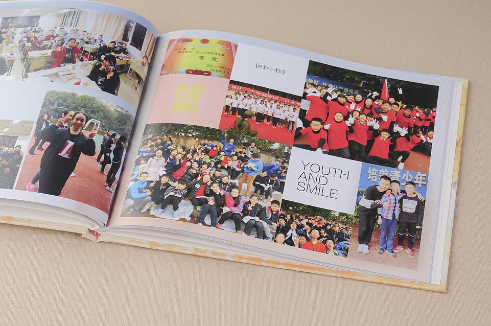 昆明班级毕业纪念册制作-深圳中学纪念册设计昆明学区房初中初中部图片