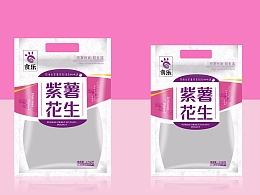 紫薯花生 休闲食品 合肥食品包装 食品包装