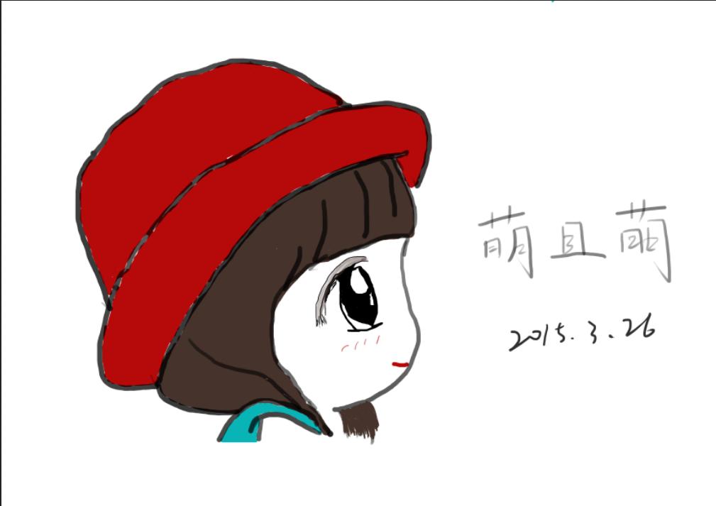 萌萌的girl手绘作品|插画|插画习作|糖果女孩122