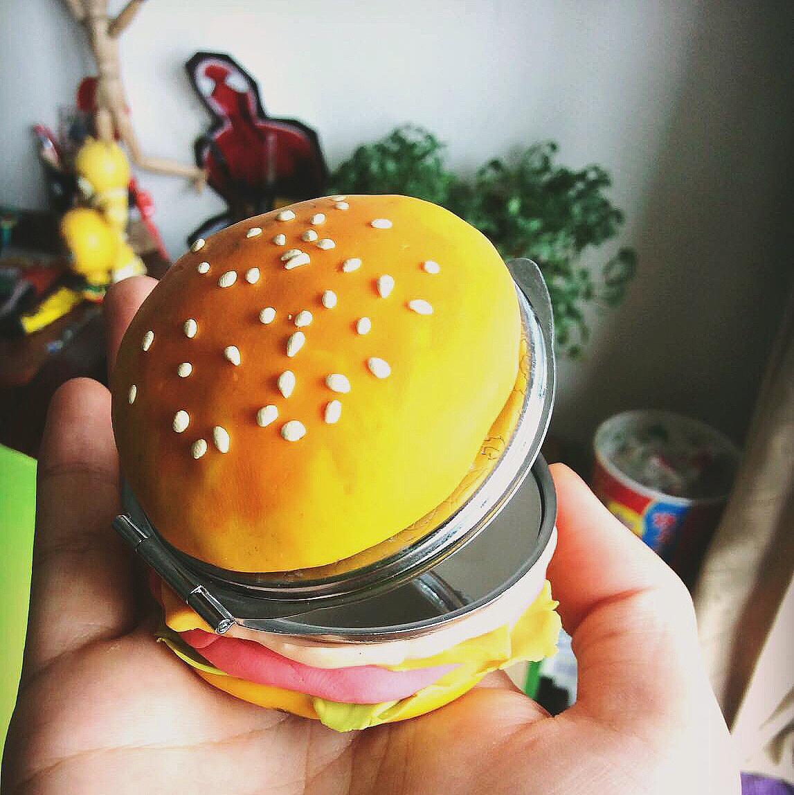 无织布手工制作汉堡包