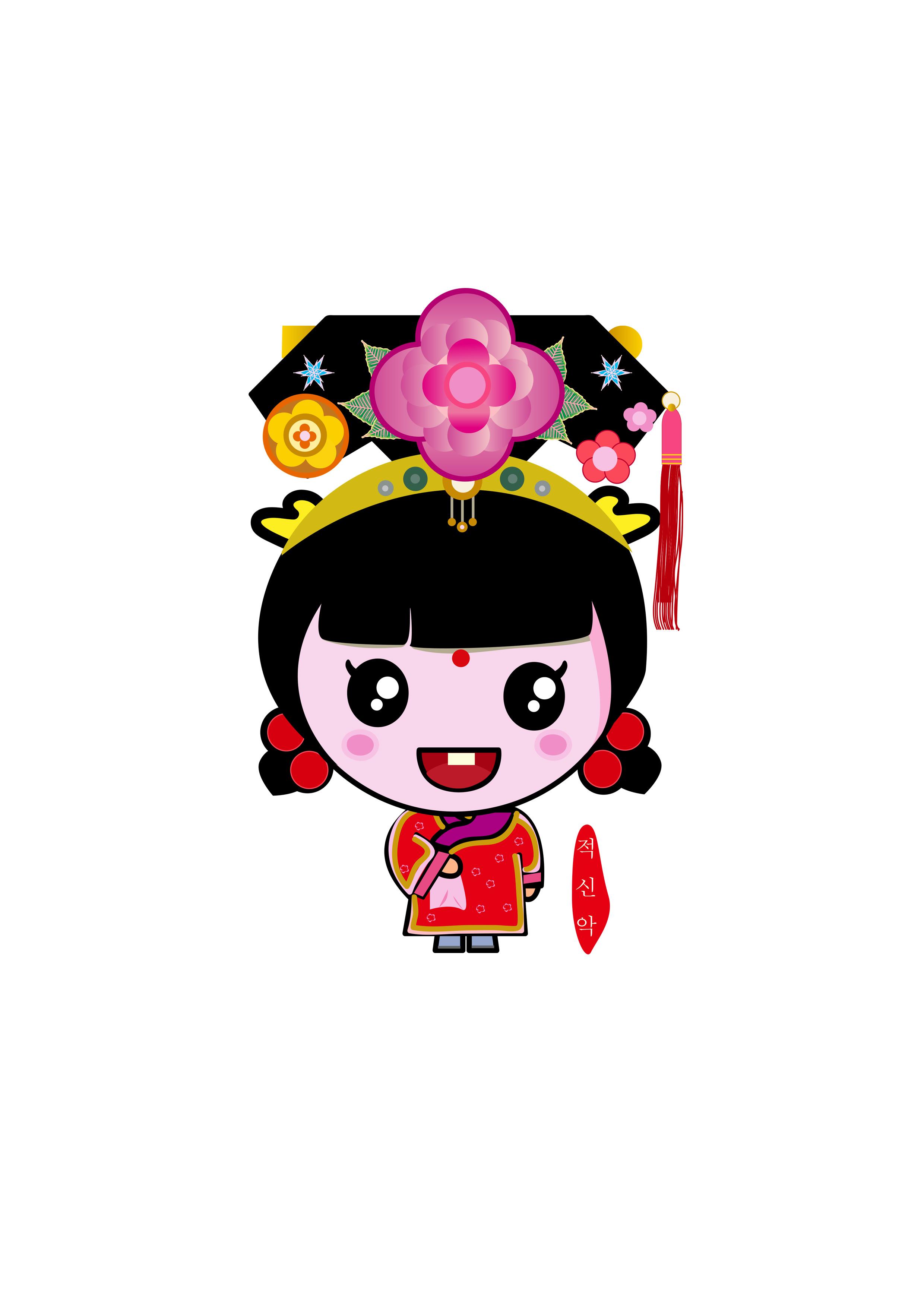 清朝卡通人物头像