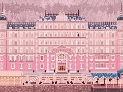 像素画练习-《布达佩斯大饭店》