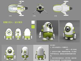太空舱玩偶