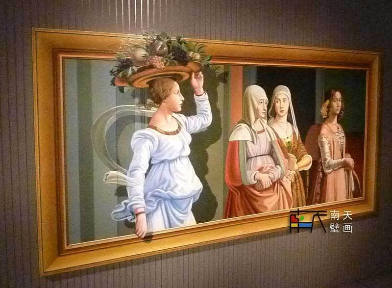 韩国3d奇异馆-世界名画-订单,油画,手绘油画,欧式油画,壁画,欧式壁画