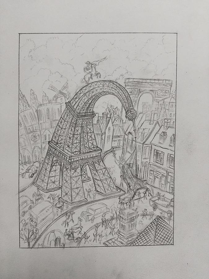 绑架埃菲尔铁塔