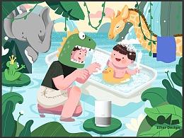 天猫精灵-六一儿童节虚拟项目