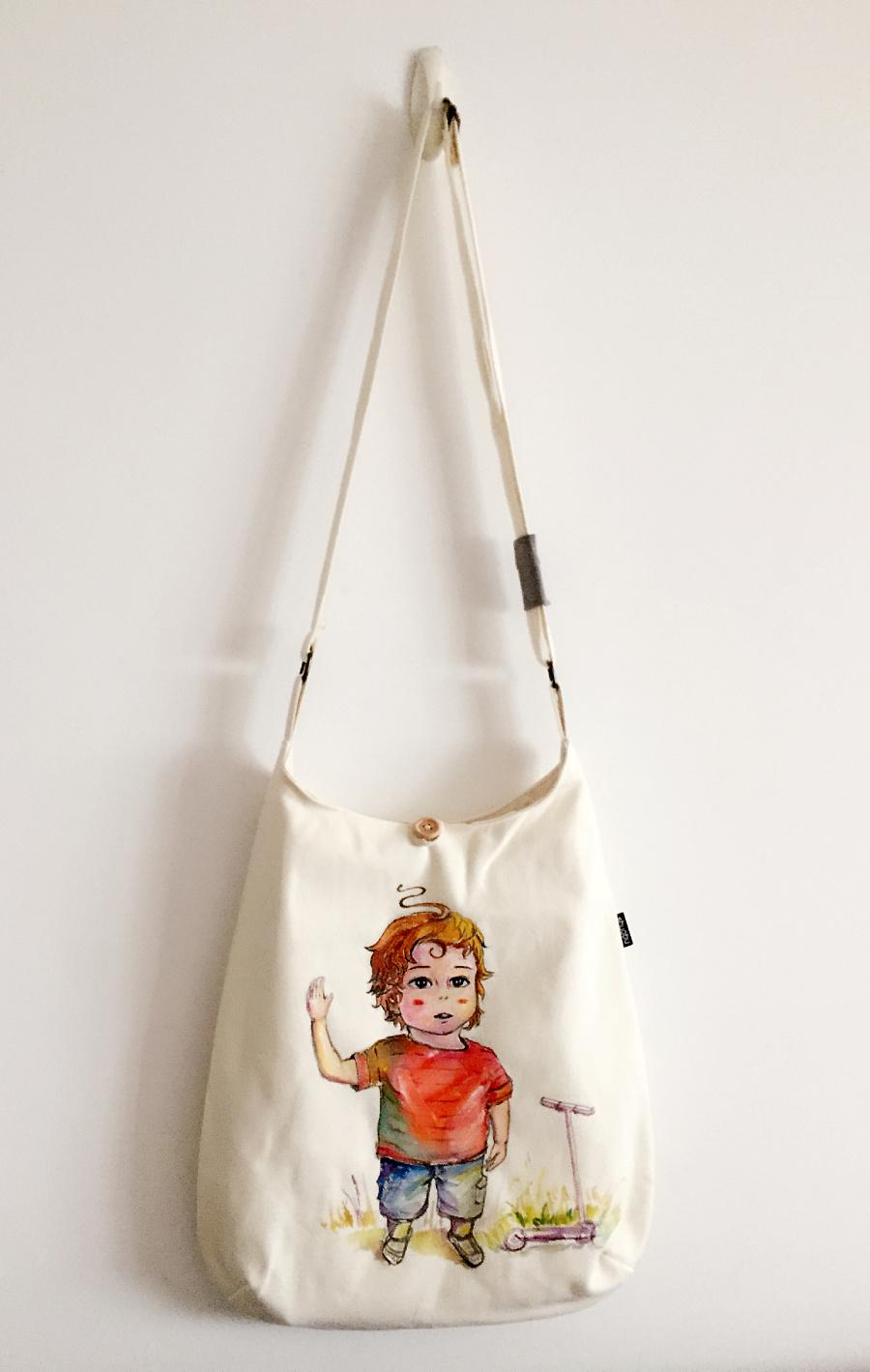 原创手绘布包