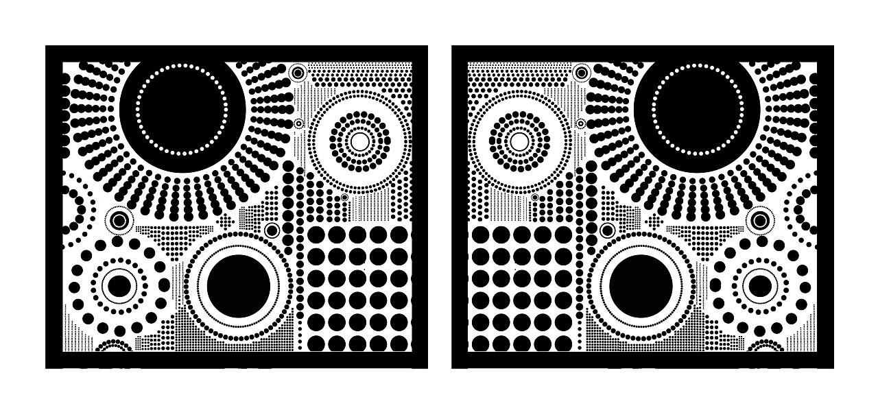 黑白装饰画_创意手绘黑白画图片