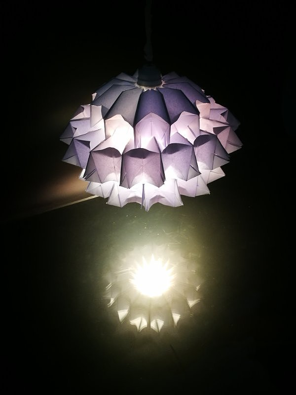 2017概念纸材灯具设计制作图片