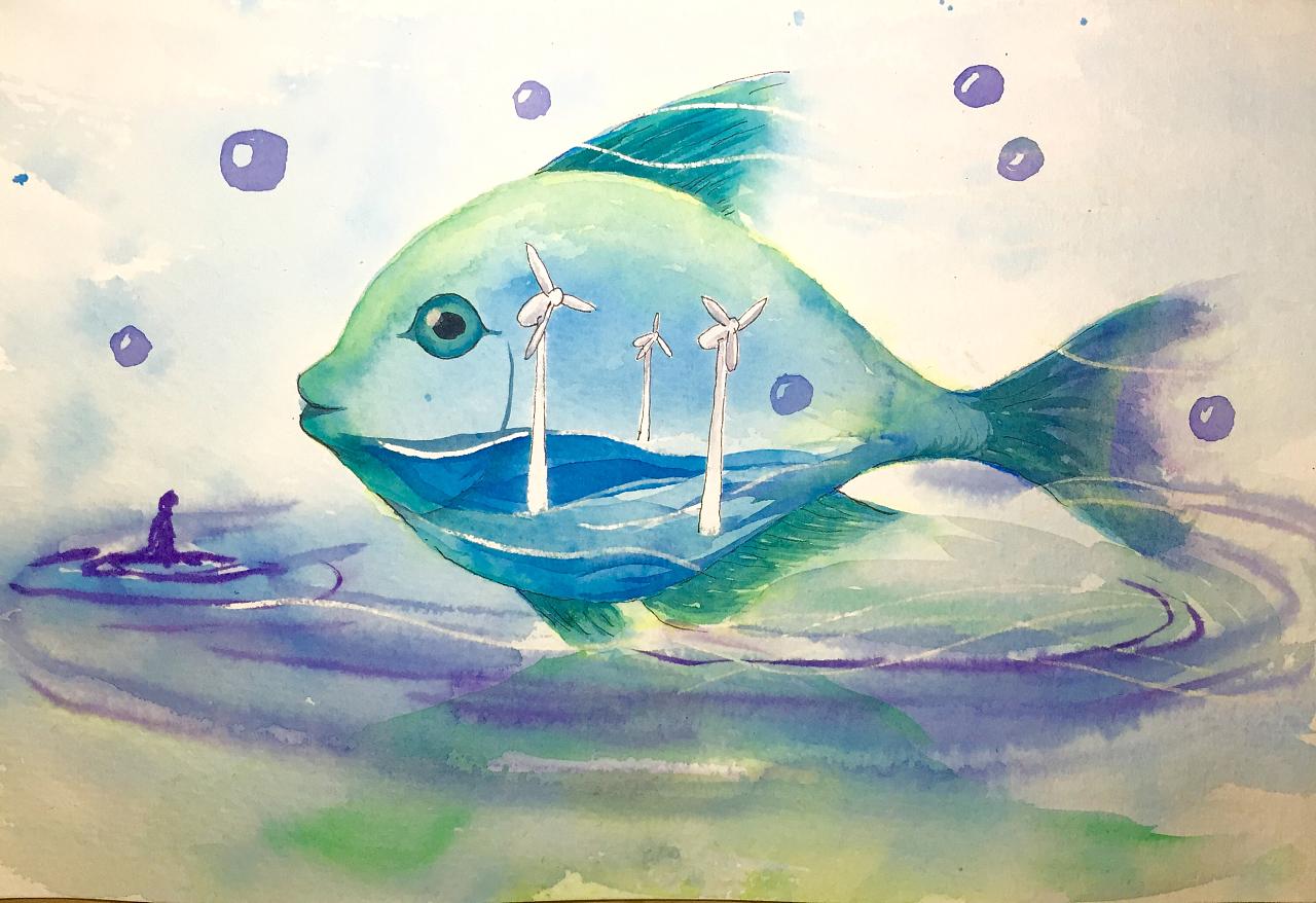 环保公益广告的元素设定    图片