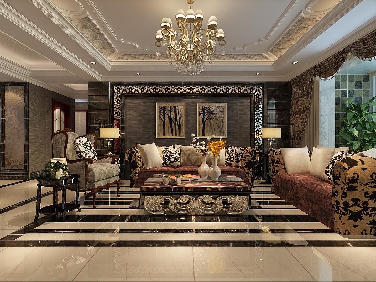 奥北公元137㎡三室两厅两卫现代简约风格装修效果图-金舍装饰
